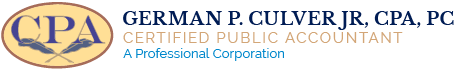 German P. Culver, Jr., CPA, PC Logo